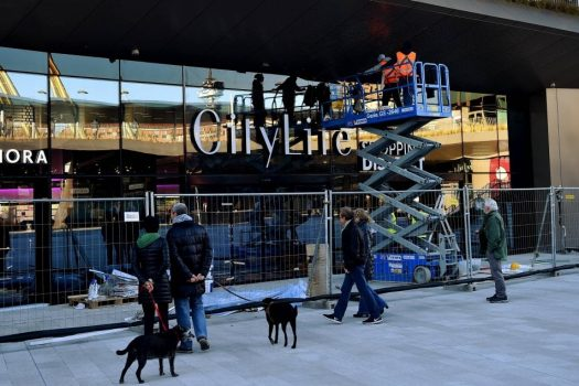 Noleggio GV3 Venpa per Citylife Shopping Center