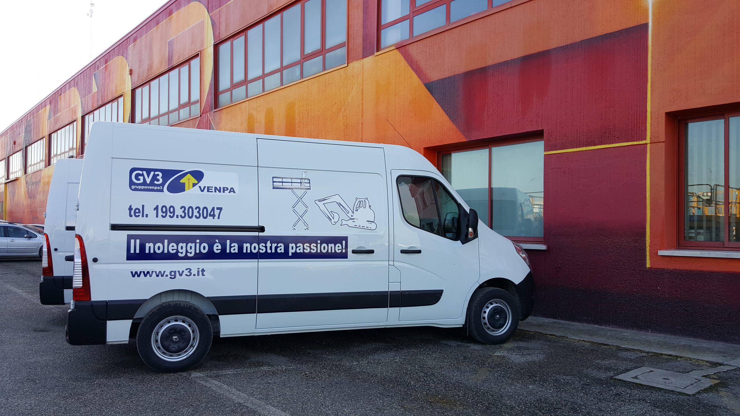 Officina Mobile per la pronta assistenza in cantiere - First Care Venpa