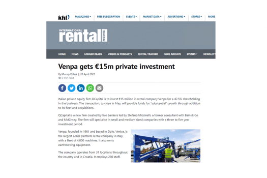 2021_04-International-Rental-News_Venpa-gets-€15m-private-investment